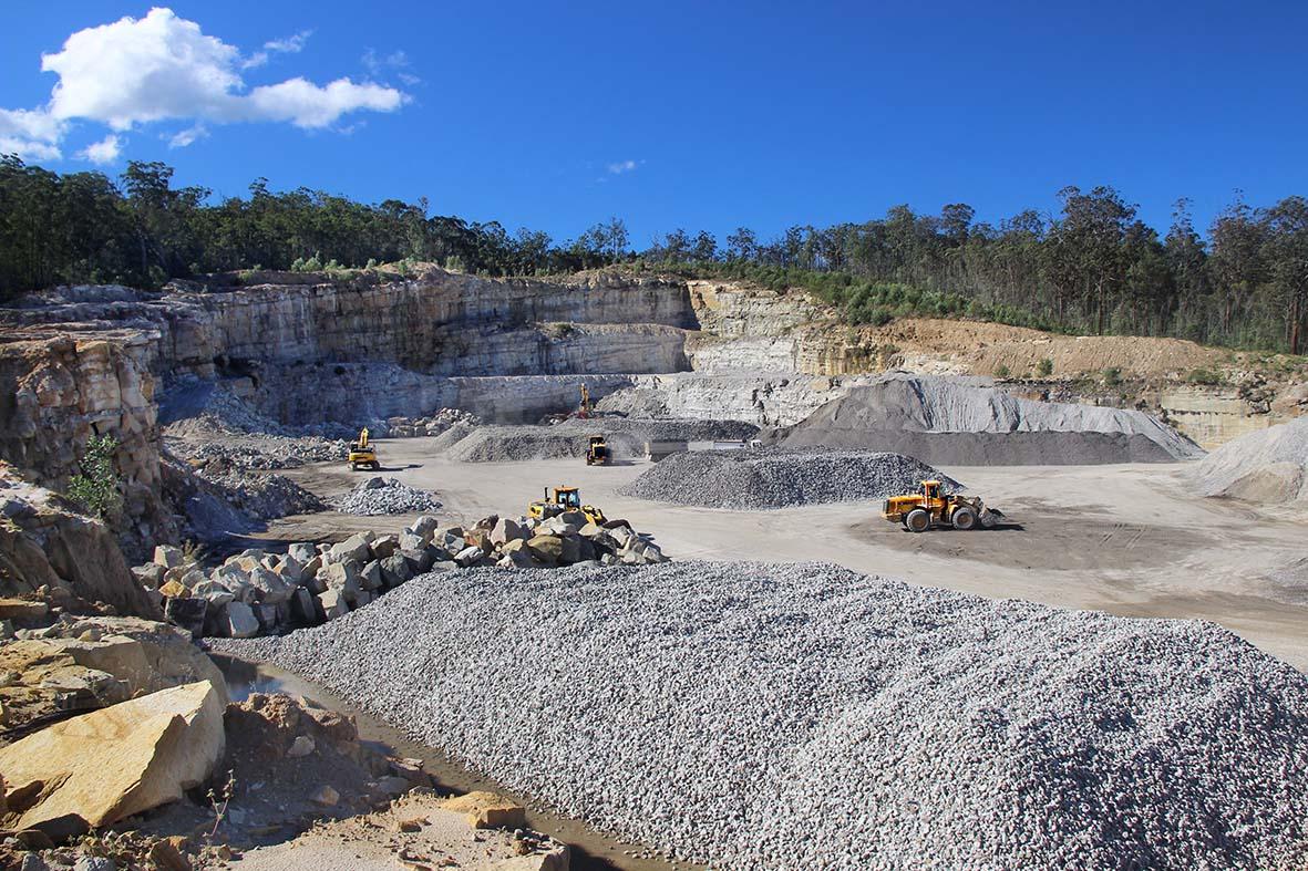 newman-quarrying